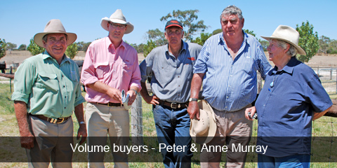 Volume buyers - Peter & Anne Murray